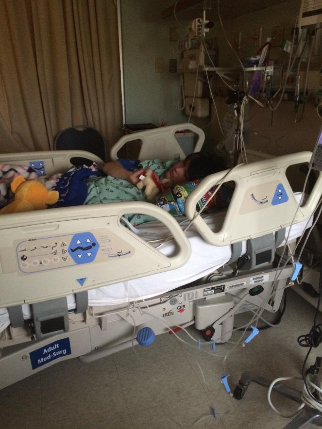 13 08 T1D hospital resting