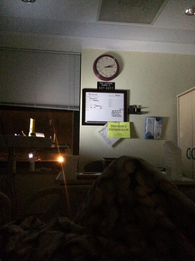 13 10 T1D hospital night