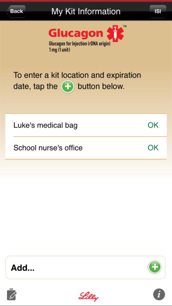 glucagon emergency kits