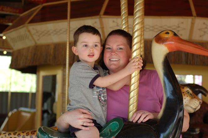 zooluke & mommy carousel