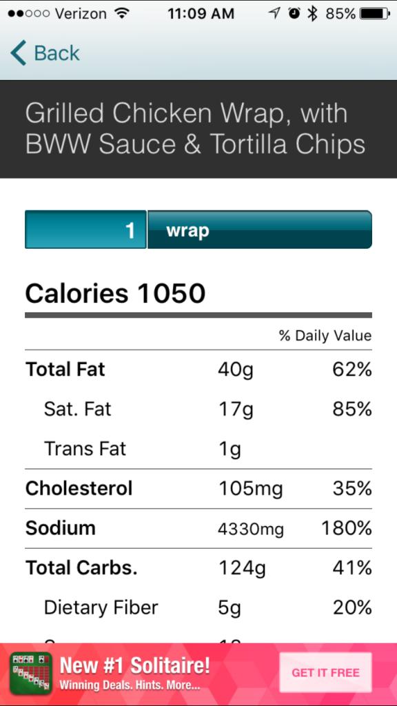 calorie king