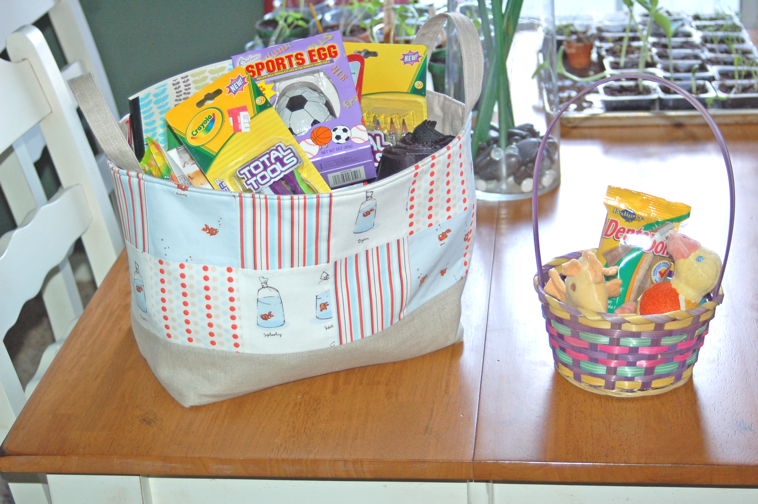 Non-candy Easter basket ideas. \u2013 Smells Like Insulin