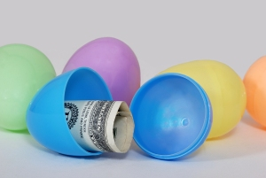 Easter Eggs With Cash Inside